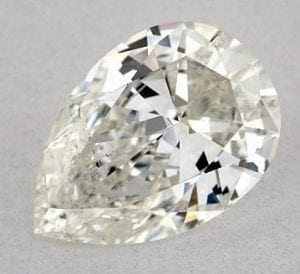 0.91 CARAT J-SI2 PEAR SHAPE DIAMOND