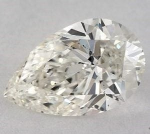 0.92 CARAT I-SI1 PEAR SHAPE DIAMOND