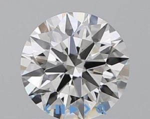 Round Cut Diamond 0.91 Ct