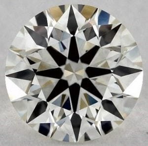 1.15 carat, VS2, J colour True Hearts