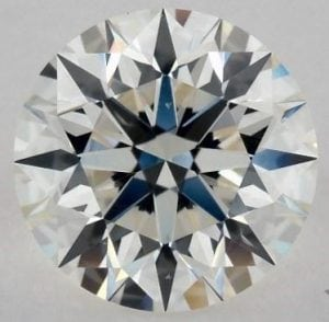 1.31 CARAT I-SI1 EXCELLENT CUT ROUND DIAMOND SKU-2871189