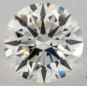 1.33 CARAT L-VS1 EXCELLENT CUT ROUND DIAMOND SKU-5093607