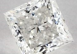 1.51 CARAT H-SI2 IDEAL CUT PRINCESS DIAMOND SKU-4189279