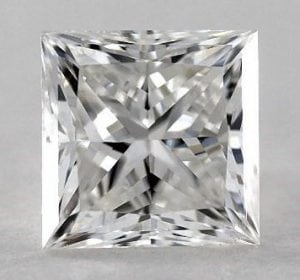 1.53 CARAT F-SI2 IDEAL CUT PRINCESS DIAMOND SKU-3263521