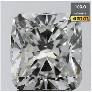 1.73 CARAT J-VVS1 CUSHION DIAMOND SKU- C173-63081402Z