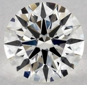 James Allen 1.25 carat size, VS2 clarity, J colour