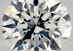 0.90 CARAT J-SI1 EXCELLENT CUT ROUND DIAMOND SKU-4401044