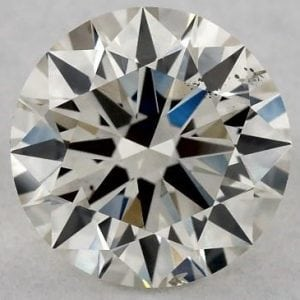 0.91 CARAT J-SI1 EXCELLENT CUT ROUND DIAMOND SKU-5439623
