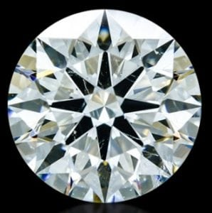 1.084 ct K SI1 A CUT ABOVE® Hearts and Arrows Diamond