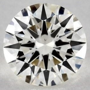 SKU-4198061 - 2.01 CARAT J-SI1 EXCELLENT CUT ROUND DIAMOND