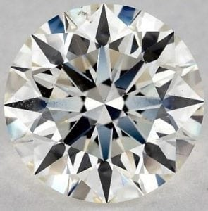 SKU-4987399 - 2.01 CARAT J-SI1 EXCELLENT CUT ROUND DIAMOND