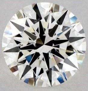SKU-5399462 - 2.01 CARAT J-SI1 EXCELLENT CUT ROUND DIAMOND