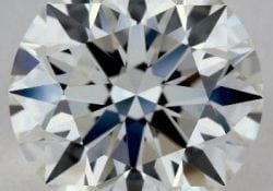 SKU-519309 - 2.12 CARAT J-SI1 EXCELLENT CUT ROUND DIAMOND