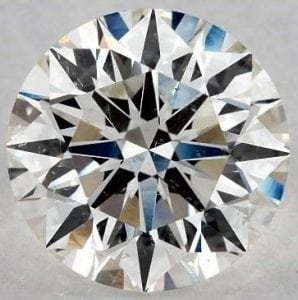 SKU-5392154 - 2.22 CARAT J-SI1 EXCELLENT CUT ROUND DIAMOND