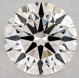 SKU-5407841 - 1.54 CARAT K-VS2 EXCELLENT CUT ROUND DIAMOND