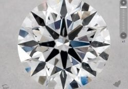 0.55 CARAT D-SI1 EXCELLENT CUT ROUND DIAMOND SKU-5738021