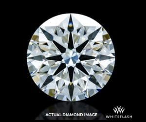 0.742 ct F VVS2 A CUT ABOVE® Hearts and Arrows Diamond