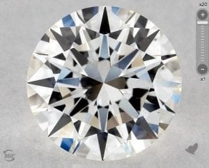 1.01 CARAT H-VS2 EXCELLENT CUT ROUND DIAMOND