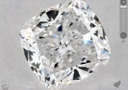 1.20 CARAT D-VS2 CUSHION MODIFIED CUT DIAMOND SKU-5591776