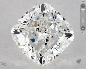 1.20 CARAT E-VS1 CUSHION MODIFIED CUT DIAMOND SKU-5391191