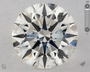 1.20 CARAT H-VS2 EXCELLENT CUT ROUND DIAMOND