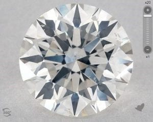 1.30 CARAT G-SI2 EXCELLENT CUT ROUND DIAMOND SKU-3960179