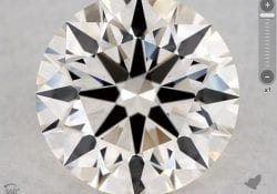 1.54 CARAT K-VS2 EXCELLENT CUT ROUND DIAMOND SKU-5407841