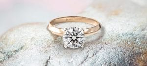 James Allen Hearts and Arrows Diamond Engagement Ring
