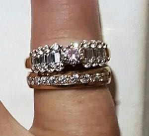 Rings on Finger