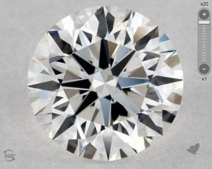 0.70 CARAT G-IF EXCELLENT CUT ROUND DIAMOND SKU-5833081