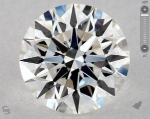 0.74 CARAT G-IF EXCELLENT CUT ROUND DIAMOND SKU-5502002
