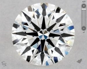 1.00 CARAT I-SI1 EXCELLENT CUT ROUND DIAMOND SKU-5916109