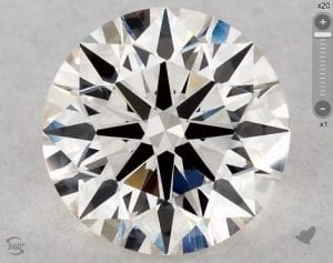 1.27 CARAT J-VS2 EXCELLENT CUT ROUND DIAMOND SKU-5964519