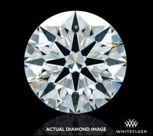 1.278 ct K SI1 A CUT ABOVE® Hearts and Arrows Diamond AGS-104099156027