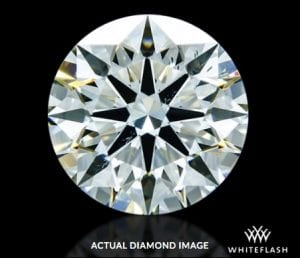1.323 ct K SI1 A CUT ABOVE® Hearts and Arrows Diamond AGS-104099157005