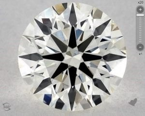 1.37 CARAT J-VS2 TRUE HEARTSTM IDEAL DIAMOND SKU-5245472