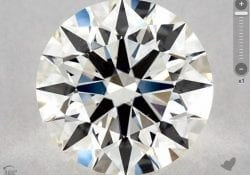 1.64 CARAT I-VS1 TRUE HEARTS IDEAL DIAMOND SKU-4748745