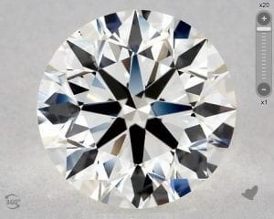 2.88 CARAT I-VS2 EXCELLENT CUT ROUND DIAMOND SKU-5580984