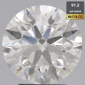 GIA CERTIFIED 2.90 CARAT I-SI1 EXCELLENT CUT ROUND DIAMOND SKU- R290-180295408
