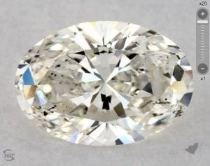 1.04 CARAT K-SI2 OVAL CUT DIAMOND 5968972