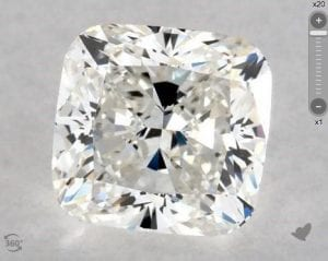 1.20 CARAT H-VS1 CUSHION MODIFIED CUT DIAMOND SKU-5683759