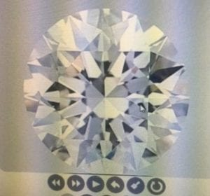 2.83 Carat I-SI1 Excellent Cut Round Diamond