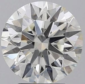 3.04 Carat J-SI1 Excellent Cut Round Diamond