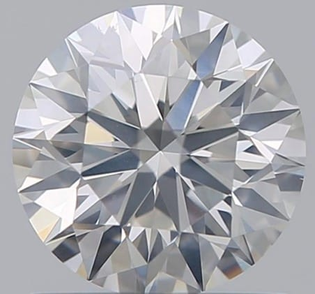 0.80 Carat Round Loose Diamond, I, SI2, Super Ideal, GIA Certified