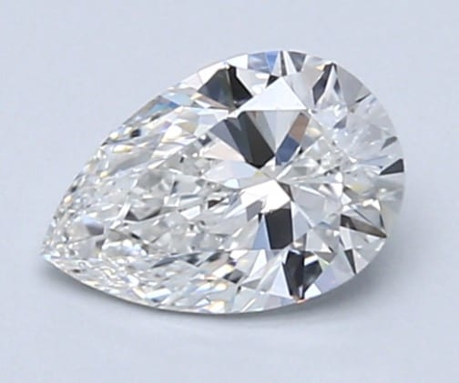 Pear-shaped diamond 0.71 carats 2
